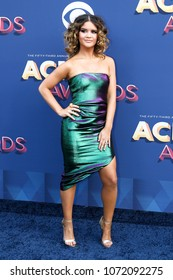 LAS VEGAS-APR 15: Singer Maren Morris attends the 53rd Annual Academy of Country Music Awards on April 15, 2018 at the MGM Grand Arena in Las Vegas, Nevada.