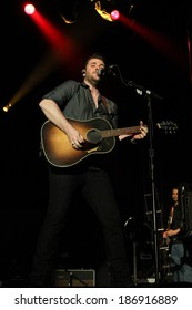 """LAS VEGAS-APR 5: Chris Young performs at the 2nd Annual Academy of Country Music (ACM) Party For A Cause Festival - """"Outnumber Hunger Live!"""" at The LINQ in Las Vegas, Nevada."""
