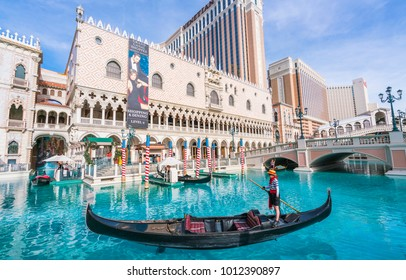 las vegas,nevada,usa. 5-29-17:The Venetian Resort Hotel & Casino on the day.