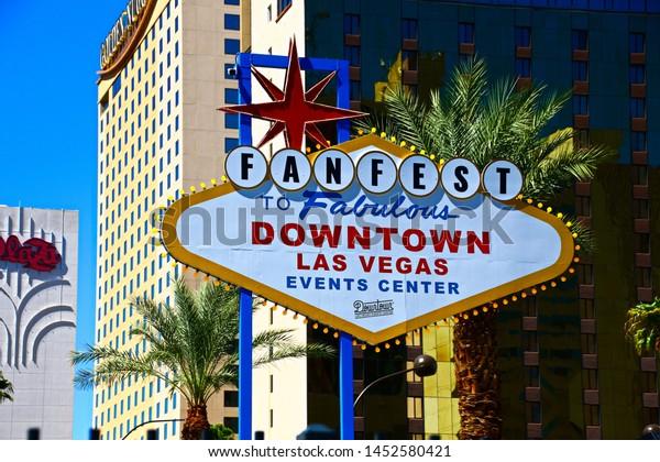 Las Vegasnvusa 16 Sep2018 Fanfest Downtown Stock Photo Edit Now 1452580421
