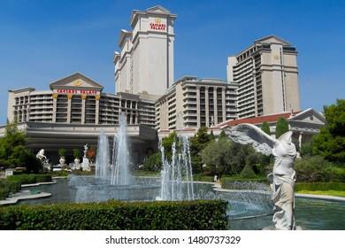 Las Vegas,NV/USA 6 September 2009: Caesars Palace ,beautiful luxury hotel and casino in Las Vegas, Nevada