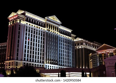 Las Vegas,NV/USA - Sep 16,2018 : Caesars Palace hotel and casino in Las Vegas. Caesars Palace opened in the 1960's and has a Roman Empire theme.Used Movie Hang Over.