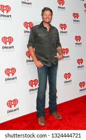 LAS VEGAS-SEP 19: Blake Shelton attends the 2015 iHeartRadio Music Festival at MGM Grand Garden Arena Night 2 on September 19, 2015 in Las Vegas, Nevada.