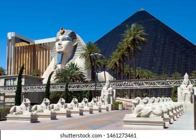 Las Vegas/USA-07/15/2019 photo from Luxor Hotel & Casino in USA
