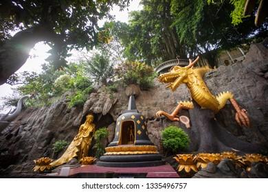 Lasem, Rembang, Central Java / Indonesia - October 13, 2016 : Monastery Ratanavana Arama in Lasem subdistric.