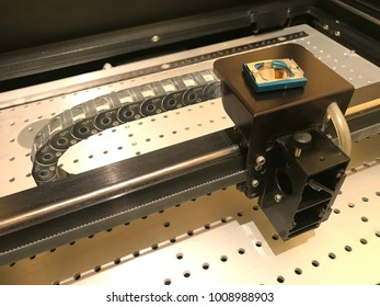 laser engraver for the manufacture of seals and stamps