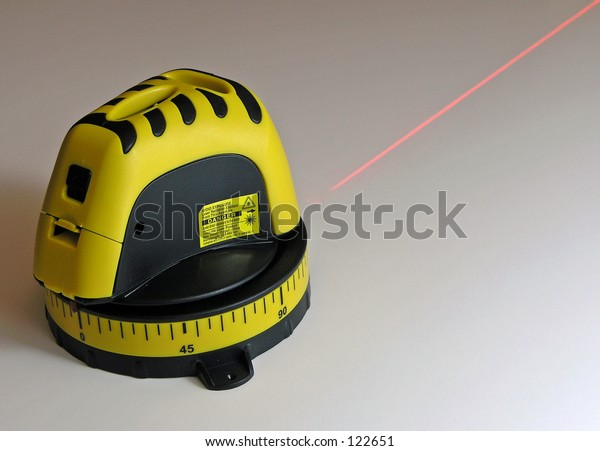 Laser Level Tool with Laser Beam