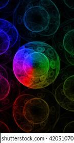 Laser light background.