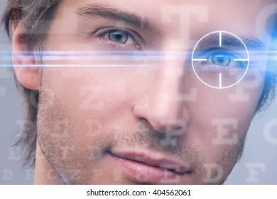 Laser vision correction concept