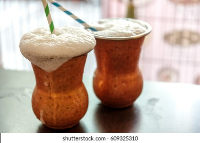 Lassi is a popular traditional yogurt-based drink from the Indian Subcontinent
