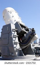 Last defence on a naval vessel against anti-ship missiles
