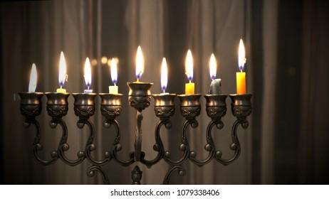 USA Hanukkah Candles made by Waxen Candles in Pennsylvania