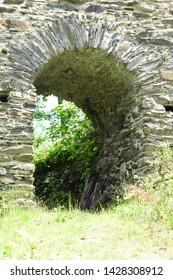 last leftovers of ancient castle ruin 'Isenburg'