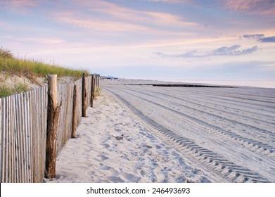 Last Light on Rehoboth Beach,Delaware
