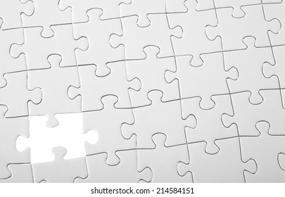 Last piece of white puzzle