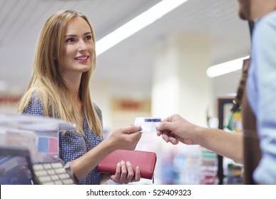 Last step of the shopping is payment