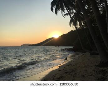Last sunrise of 2018, Koh Wai, Trat, Thailand