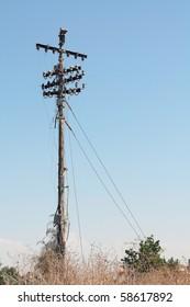 Last telegraph pole