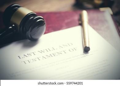 Last will testament