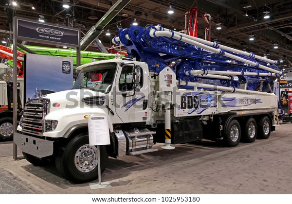 Freightliner Las Vegas >> Lasvegas Usa Jan 24 2018 Concrete Stock Photo Edit Now