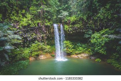 Latak Waterfall, Lambir National Park, Miri, Sarawak.