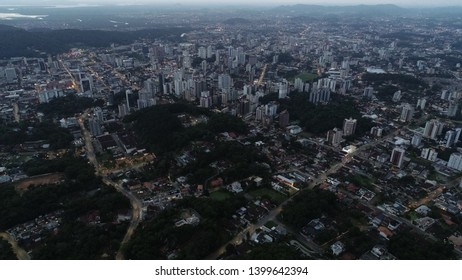 Late afternoon of the City of Joinville