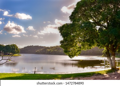 Late afternoon - Lake in Maceió - Alagoas, Brazil.