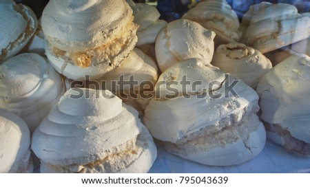 late afternoon meringues