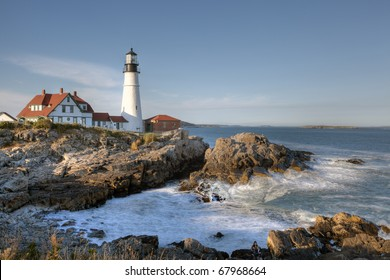 Late afternoon at Portland Head lighthouse