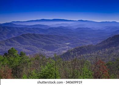 Late Fall, Great Smoky Mountains National Park, Tennessee/ North Carolina, USA