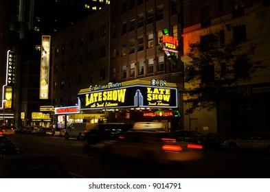 Late Night New York