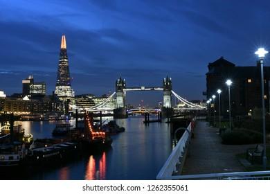 Late night Tower Bridge