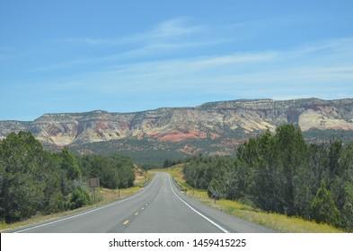 Late Spring in Southern Utah: Zion-Mt. Carmel Highway Near Mount Carmel Junction
