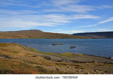 Late summer day in the westfjords of Iceland.