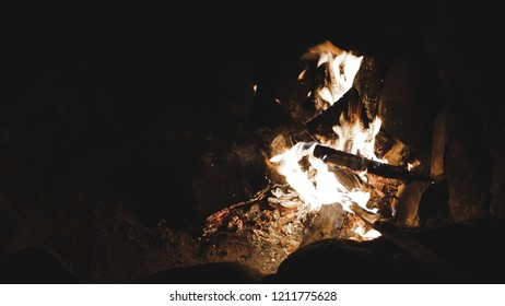 Latenight bonfire while on a vacation in Sagada, Philippines.