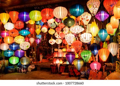 Latern in the Shop at HoiAn, QuangNam, DaNang province, VietNam July 2016