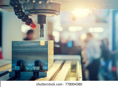 lathe machine close-up