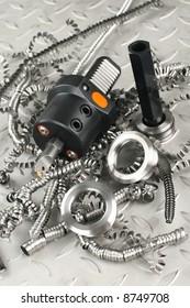 Lathe tool and screw gauge