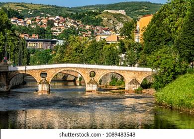 Latin Bridge is a historic Ottoman bridge over the River Miljacka in Sarajevo, Bosnia and Herzegovina.