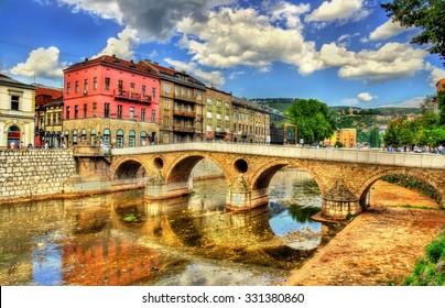 Latin Bridge in Sarajevo - Bosnia and Herzegovina