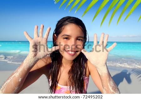 Caribbean teen