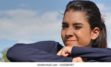 Latina Female And Confidence