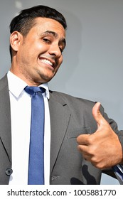 Latino Business Man And Confidence