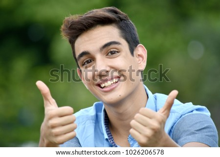 Latino boy thumbs free pic 853