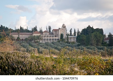 Latrun, Trappist Monastery, Abbaye de Latroun . Isrel .