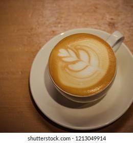 Latte Art cappuchino