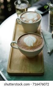 latte art coffee time