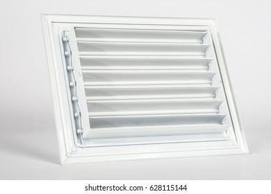 Lattice louver for ventilation. Framing for the ventilation window.