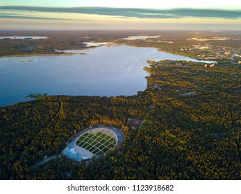 Latvia  aerial view.