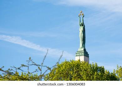 Latvia. Freedom monument in Riga